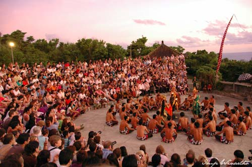 Kecak dance - uluwatu temple