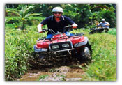 ATV riding di Bali
