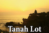 Pura tanah lot - sunset